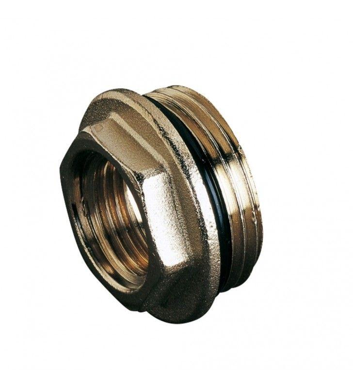 Riduzione 1-2femmina per 3-4mascio oring x termosifone Idrobric CARVAL0024RI