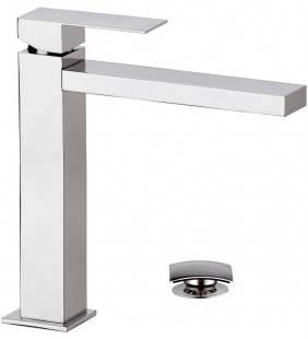 Rubinetto monocomando alto per lavabo design moderno remer q design Remer QD10L