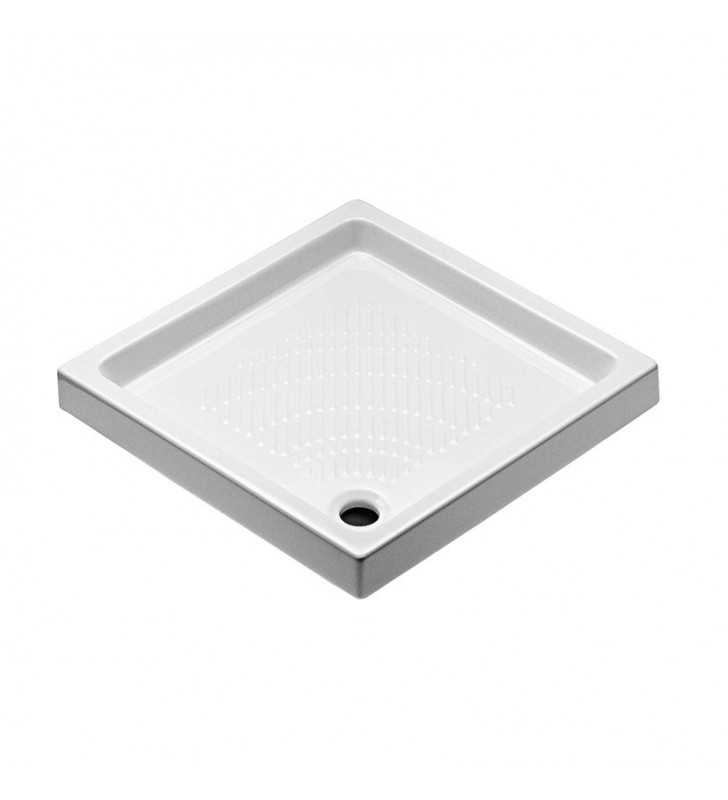 Piatto doccia 76x76 basic senza logo ceramica
