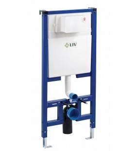 Kit liv fix vaso per installazione pareti in cartongesso Sanitari LIV SCACAS0163KI
