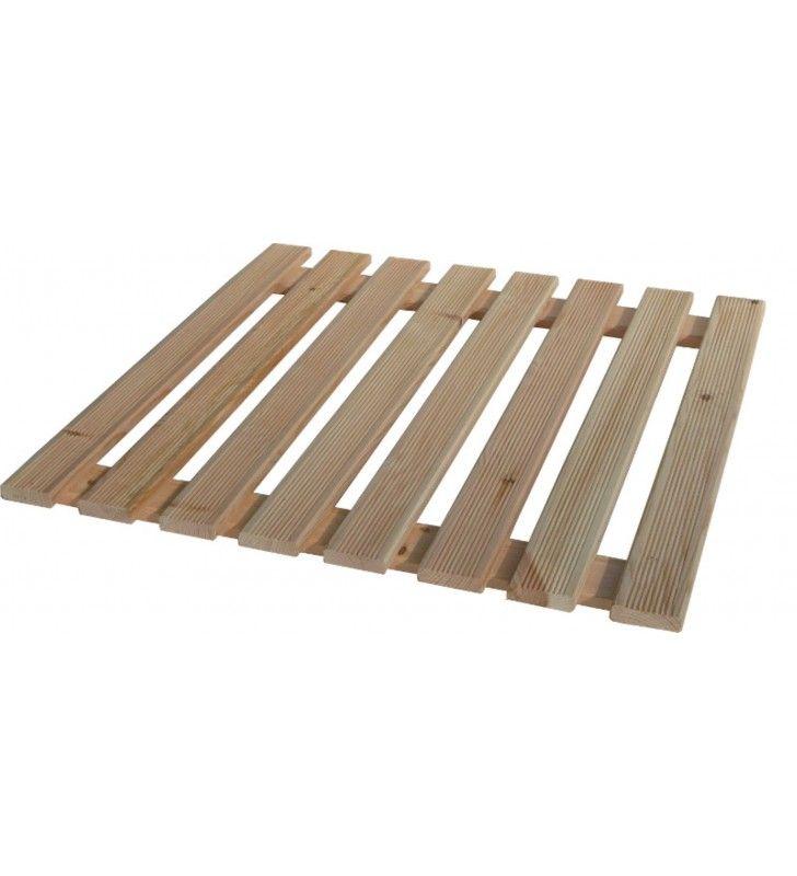 Pedana doccia pino cm. 60 x 60 (per piatti cm 80 x 80 e oltre) Idrobric U82195