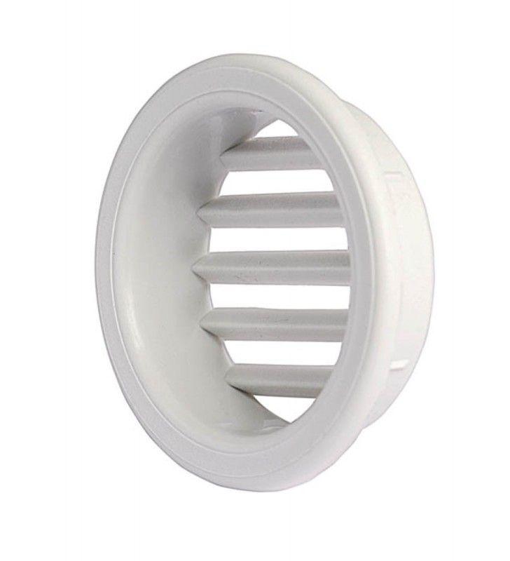 Griglia di areaz. circol. 32 da incasso in plastica per mobili Idrobric SACASP0059GM