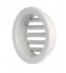 Griglia di areaz. Circol. 60 da incasso in plastica per mobili Idrobric SACASP0060GM
