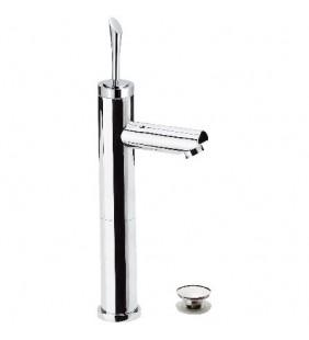 Jazz monocomando lavabo alto con piletta click clack jazz remer Remer J10LB