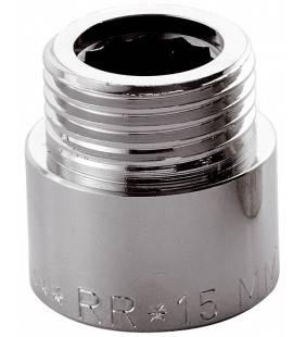 Prolunghe ottone cromato 3/4x15 Remer 5023415