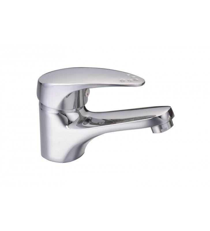 Rubinetto miscelatore economico per lavabo serie punto Idrobric SCARUB0109CR