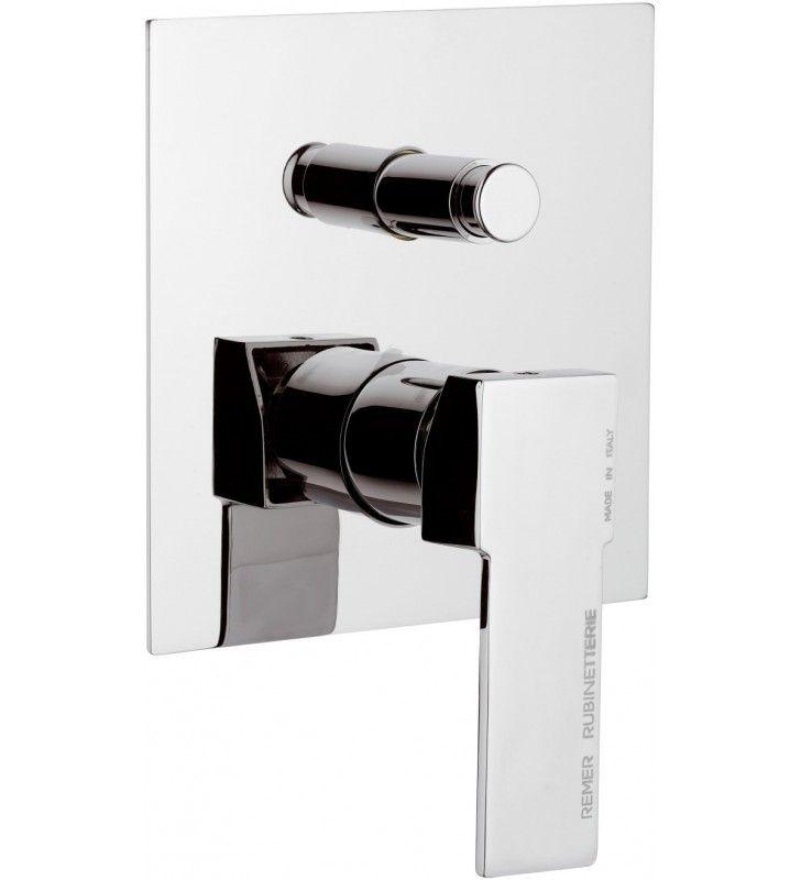 Rubinetto da incasso per vasca/doccia - Serie Qubika
