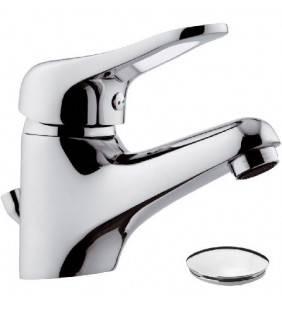 Rubinetto lavabo remer con piletta in plastica - serie kiss Remer K10P