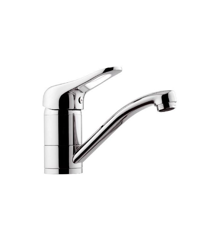 Miscelatore lavabo o lavello con canna girevole remer - serie kiss (MM1) Remer K11G