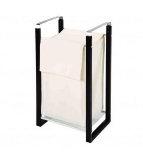 Porta Biancheria Cromo/Legno