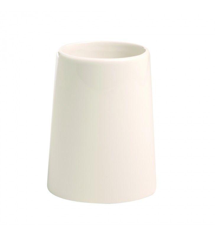 Bicchiere bianco serie Maya