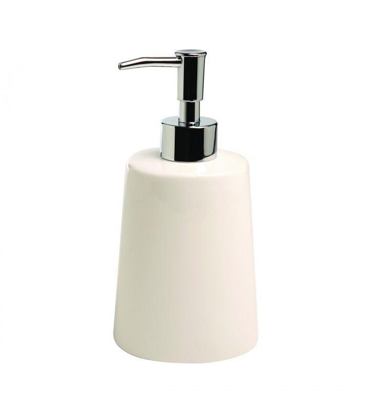 Dispenser sapone bianco Maya