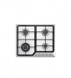 Piano cottura 60 cm in acciaio inox satinato per cucina ad incasso. Hds690 artes 60 Lofra 29210112