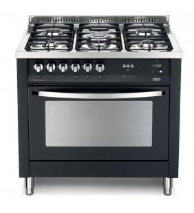 Forno a gas 90x60 nero raffinato ed elegante pnmg 96gvt/c Lofra 41060099