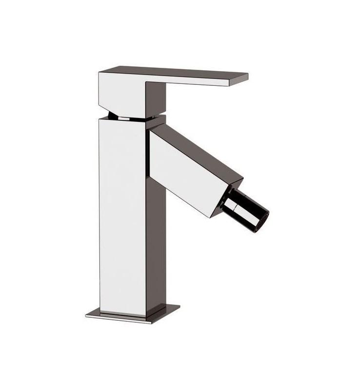 Miscelatore bidet senza scarico caratterizzato da linee quadre per ambienti moderni ed eleganti - serie oxy light Daniel Rubi...