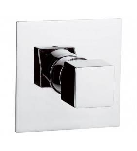 Miscelatore incasso doccia daniel rubinetterie made in italy, design quadro Daniel Rubinetterie CU602CR