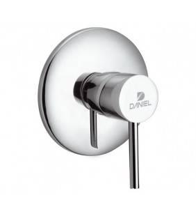 Miscelatore per incasso doccia suvi, design minimale, elegante e raffinato. Daniel rubinetterie Daniel Rubinetterie S20602CR