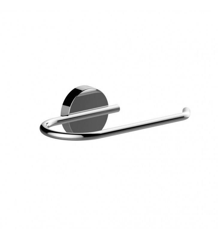 Porta rotolo carta igienica aperto serie wire - fissaggio ad incollo o con viti Aquasanit A200250CR
