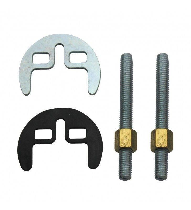 Set fissaggio rubinetti 2 fori Idrobric SACMIN0023SE