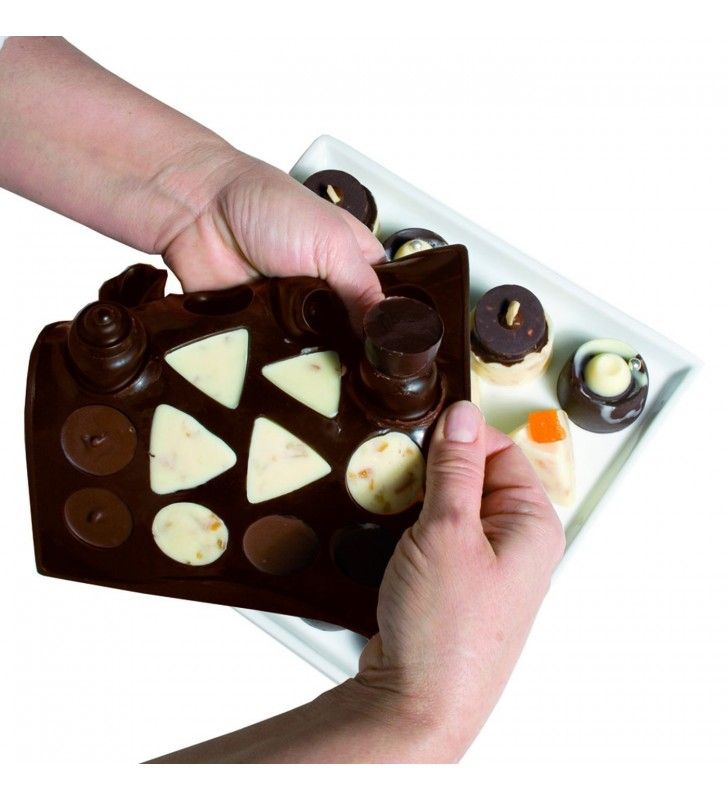 Stampo multiforme per cioccolatini choco-ice classic Pavonidea CHOCO00