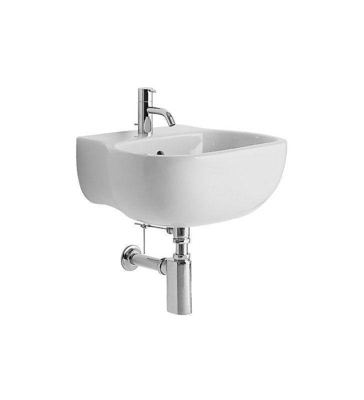 Set completo sanitari a terra di design con lavabo sospeso serie 500 Pozzi Ginori set500