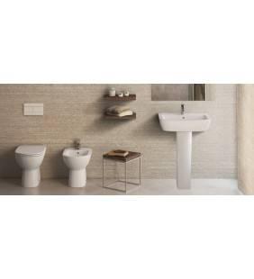 Set sanitari a terra con lavabo gemma 2 ceramica dolomite Ceramica dolomite setgemma2